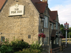 The Fox Inn restaurant exterior