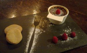 Desert at The Exeter Arms