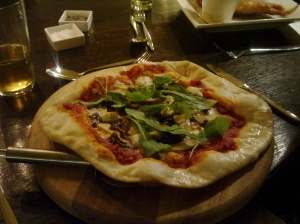 The Exeter Arms Signature Pizza