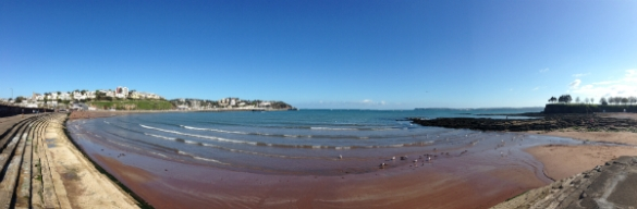 View from Torre Abbey Sands, Torquay
