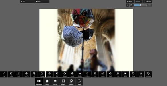 Pixlr.com Express screenshot